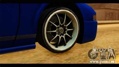 Infernus Rapide GTS pour GTA San Andreas sur la vue arrière gauche