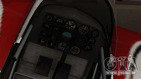 GTA 5 Stuntplane pour GTA San Andreas vue arrière
