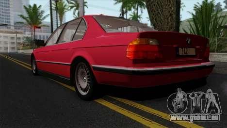 BMW 750iL E38 für GTA San Andreas linke Ansicht
