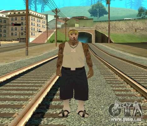 Vagos Skin Pack pour GTA San Andreas