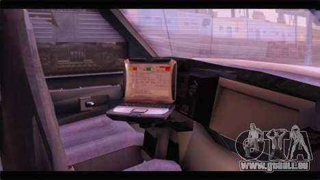 Ford E-350 Ambulance New Brunswick für GTA San Andreas rechten Ansicht