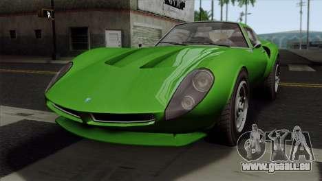 GTA 5 Grotti Stinger GT v2 SA Mobile pour GTA San Andreas