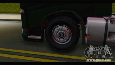 Volvo FH4 für GTA San Andreas zurück linke Ansicht