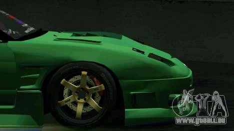 Nissan 180SX pour GTA San Andreas vue de côté