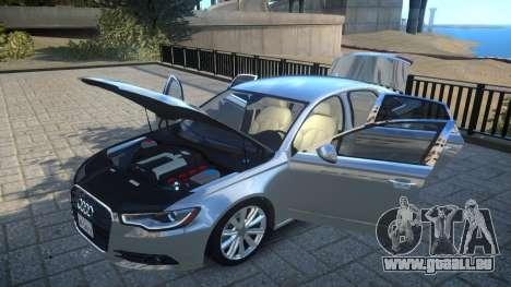 Audi A6 2012 v1.0 für GTA 4 Seitenansicht