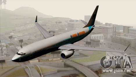 Boeing B737-800 Pilot Life Boeing Merge pour GTA San Andreas