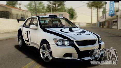 Lexus IS300 Tunable pour GTA San Andreas roue