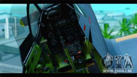 F-51D Israeli Air Force für GTA San Andreas Rückansicht