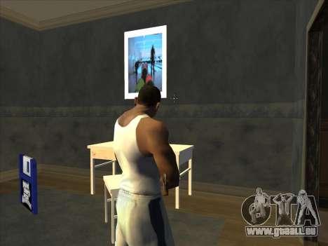 PCM de Battlefield 2 pour GTA San Andreas cinquième écran