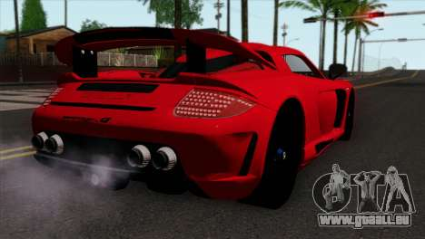 Gemballa Mirage GT v3 Windows Down für GTA San Andreas linke Ansicht