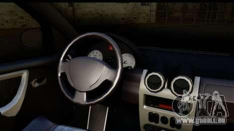 Dacia Sandero Low Tuning für GTA San Andreas rechten Ansicht