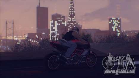 Real Live ENB pour GTA San Andreas cinquième écran