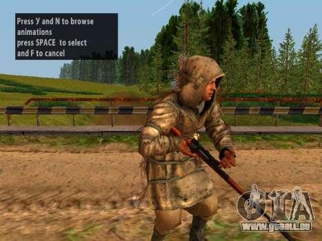 Soviétique Sniper pour GTA San Andreas dixième écran