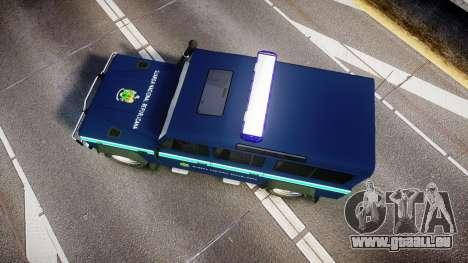 Land Rover Defender Policia GNR [ELS] für GTA 4 rechte Ansicht