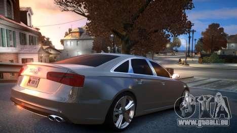 Audi S6 v1.0 2013 für GTA 4 rechte Ansicht