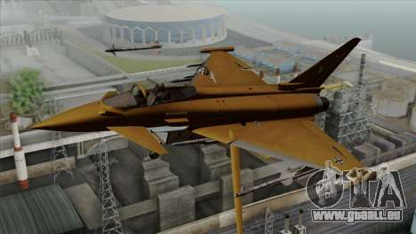 Eurofighter Typhoon Tropical Camo für GTA San Andreas