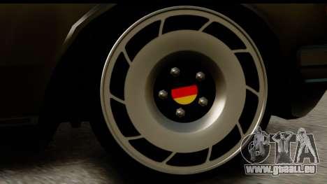 Mercedes-Benz 240 W123 Stance pour GTA San Andreas vue arrière
