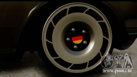 Mercedes-Benz 240 W123 Stance für GTA San Andreas Rückansicht