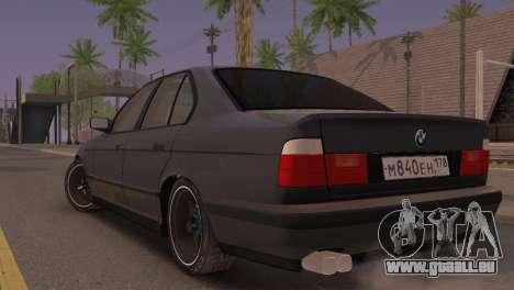 BMW 525i E34 2.0 für GTA San Andreas linke Ansicht