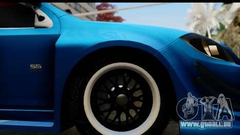 Chevrolet Cobalt SS Mio Itasha pour GTA San Andreas vue arrière