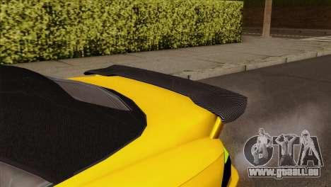 GTA 5 Ubermacht Zion XS Cabrio für GTA San Andreas rechten Ansicht