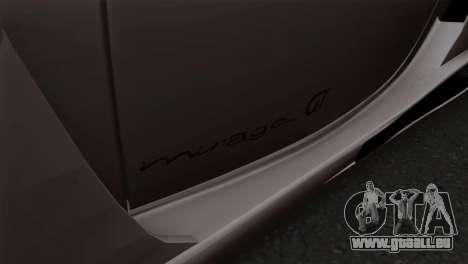 Gemballa Mirage GT v1 Windows Down pour GTA San Andreas vue de droite
