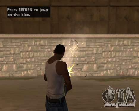 Good Effects v1.1 pour GTA San Andreas deuxième écran