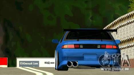 Nissan Silvia S14 Zenki pour GTA San Andreas vue arrière