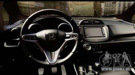 Honda Fit Sport 2009 für GTA San Andreas Rückansicht