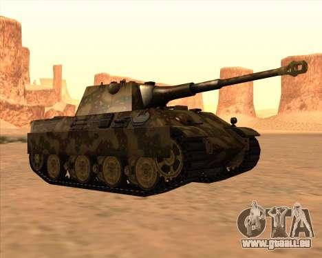 Pz.Kpfw. V Panther II Desert Camo für GTA San Andreas Seitenansicht
