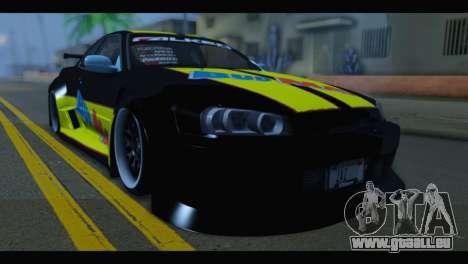 Nissan Skyline R34 BudMat pour GTA San Andreas