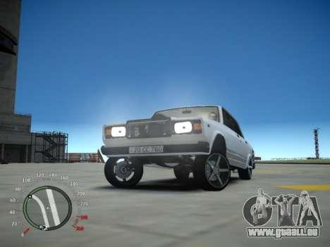 VAZ 2107 Aze für GTA 4 Innenansicht