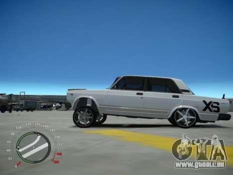 VAZ 2107 Aze für GTA 4 linke Ansicht