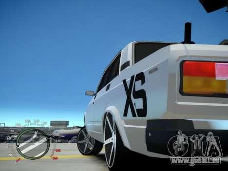 VAZ 2107 Aze für GTA 4 hinten links Ansicht