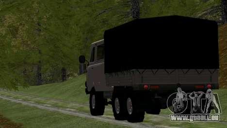 UAZ 39094 6X6 Dream hunter für GTA San Andreas rechten Ansicht