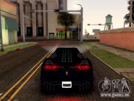 ENB pour les moyennes PC par WD pour GTA San Andreas cinquième écran