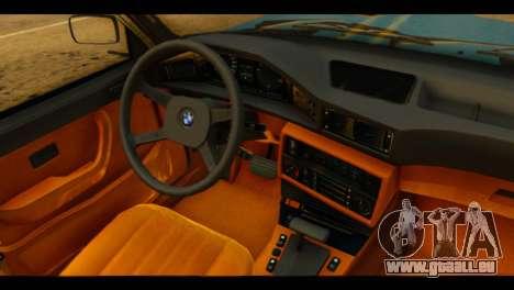 BMW 535is pour GTA San Andreas vue de droite