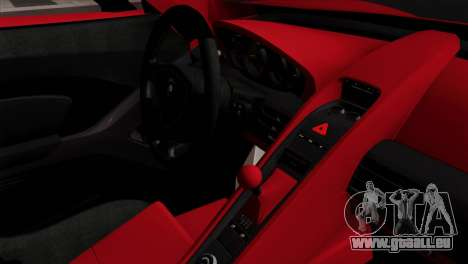 Gemballa Mirage GT v3 Windows Down für GTA San Andreas rechten Ansicht