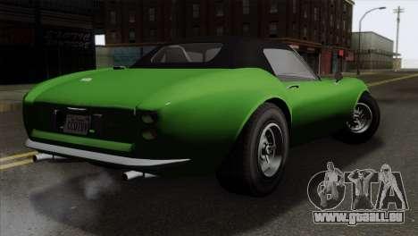 GTA 5 Grotti Stinger GT v2 für GTA San Andreas linke Ansicht