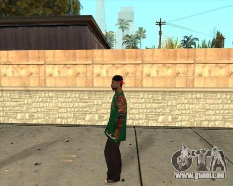 Grove HD pour GTA San Andreas troisième écran