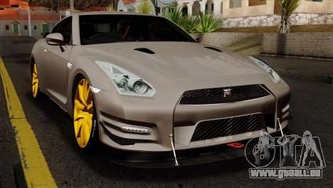 Nissan GT-R R35 2012 für GTA San Andreas