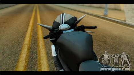 Honda CBR1000RR für GTA San Andreas rechten Ansicht