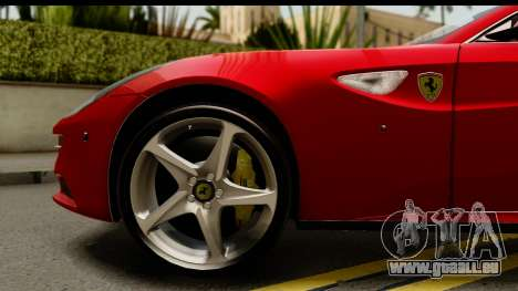 NFS Rivals Ferrari FF für GTA San Andreas Rückansicht