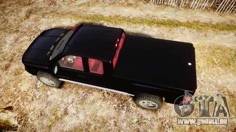 Chevrolet Silverado 1500 LT Extended Cab wheels3 für GTA 4 rechte Ansicht