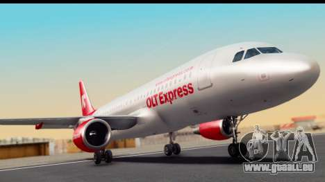 Airbus A320-200 OLT Express pour GTA San Andreas