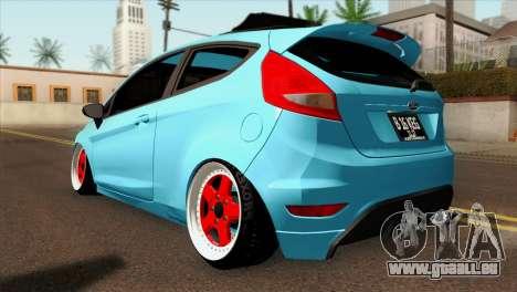 Ford Fiesta 2009 Minty Fresh für GTA San Andreas linke Ansicht