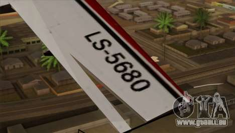 GTA 5 Stuntplane pour GTA San Andreas vue de droite