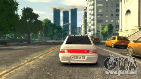 VAZ 2112 coupe BadBoy für GTA 4 hinten links Ansicht