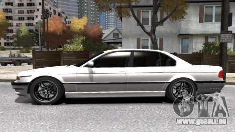BMW 750i e38 1994 Final für GTA 4 obere Ansicht