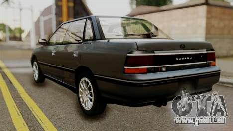 Subaru Legacy RS 1990 pour GTA San Andreas laissé vue